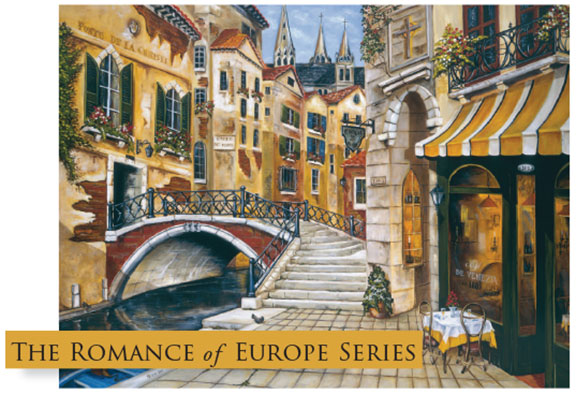 Greeting Cards: Romance of Europe Series